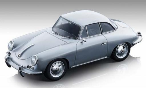 Porsche 356 1/18 Tecnomodel Karmann Hardtop grise 1961 miniature