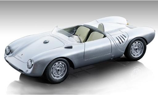 Porsche 550 1/18 Tecnomodel A RS grey 1957 Strassenversion diecast model cars