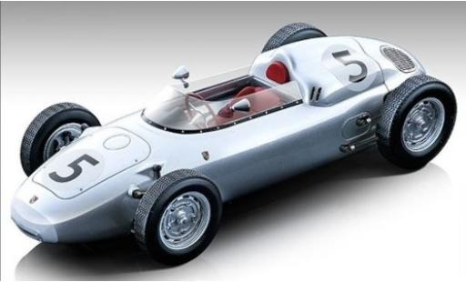 Porsche 718 1/18 Tecnomodel F2 No.5 Formel 2 GP Solitude 1960 H.Hermann diecast model cars