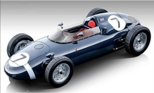 Porsche 718 1/18 Tecnomodel F2 No.7 Team Rob Walker BARC Aintree 1960 S.Moss miniature