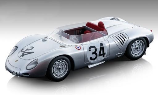 Porsche 718 1/18 Tecnomodel RSK No.34 KG 24h Le Mans 1959 E.Barth/W.Seidel diecast model cars