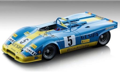 Porsche 917 1971 1/18 Tecnomodel Spyder RHD No.5 GESIPA 1000km Paris H.Marko/M.Weber miniature