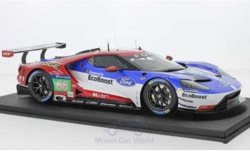 Ford GT 1/18 Top Speed No.68 Chip Ganassi Team USA LME Pro 24h Le Mans J.Hand/D.Müller/S.Bourdais miniature