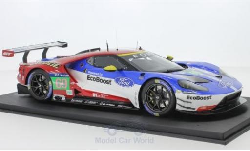 Ford GT 1/18 Top Speed No.69 24h Le Mans 2016 R.Briscoe/R.Westbrook/S.Dixon miniature