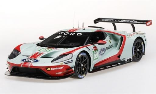 Ford GT 1/18 Top Speed No.69 Chip Ganassi Team USA EcoBoost 24h Le Mans 2019 R.Briscoe/S.Dixon/R.Westbrook diecast model cars