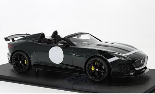 Jaguar F-Type 1/18 Top Speed Project 7 metallise verte RHD 2015 miniature