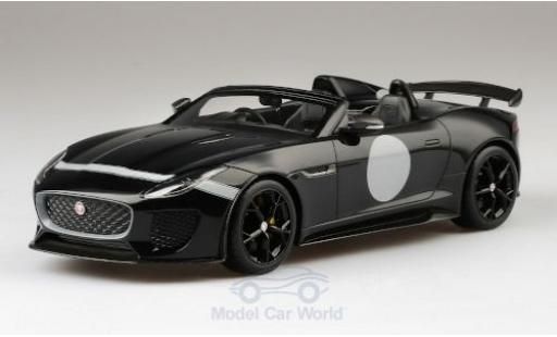 Jaguar F-Type 1/18 Top Speed Project 7 noire RHD miniature