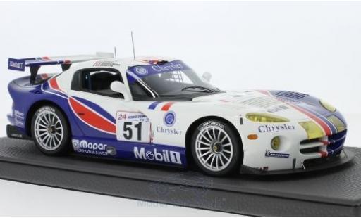 Dodge Viper GTS 1/18 Topmarques Collectibles GTS-R No.51 Team Oreca 24h Le Mans 1999 D.Dupuy/K.Wendlinger/O.Beretta miniature