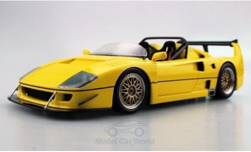 Ferrari F40 1/18 Topmarques Collectibles LM Beurlys Barchetta jaune miniature