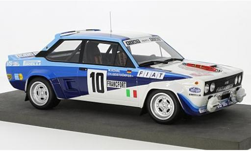 Fiat 131 1/18 Topmarques Collectibles Abarth No.10 Rallye Monte Carlo 1980 W.Röhrl/C.Geistdörfer diecast model cars