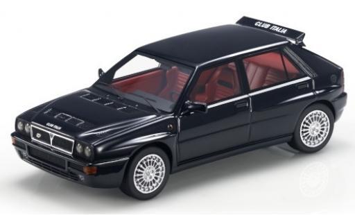 Lancia Delta 1/43 Topmarques Collectibles Integrale Evoluzione Club Italia noire/Dekor miniature