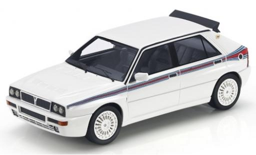 Lancia Delta 1/43 Topmarques Collectibles Integrale Evoluzione EVO 5 blanche/Dekor miniature