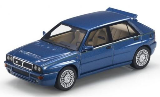 Lancia Delta 1/43 Topmarques Collectibles Integrale Evoluzione metallise bleue/Dekor miniature