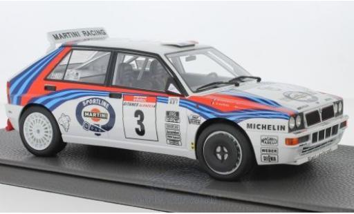 Lancia Delta 1/18 Topmarques Collectibles Integrale No.3 Martini Rallye WM Rallye Tour de Corse 1992 D.Auriol/B.Occelli miniature