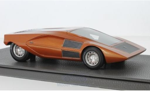 Lancia Stratos 1/18 Topmarques Collectibles Zero Concept metallise orange 1970 miniature