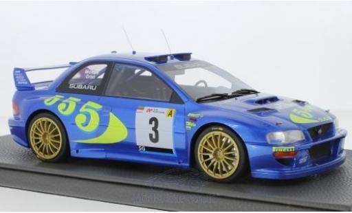 Subaru Impreza 1/18 Topmarques Collectibles S4 WRC No.3 Rallye WM Rallye San Remo 1998 C.McRae/N.Grist miniature