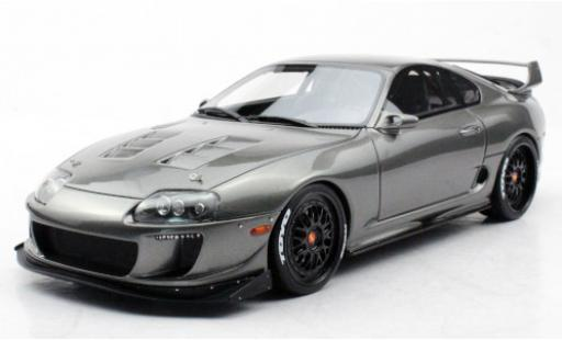 Toyota Supra 1/18 Topmarques Collectibles Enrique Munoz Twin Turbo ERM metallise grey diecast model cars