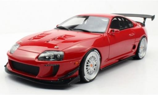 Toyota Supra 1/18 Topmarques Collectibles Enrique Munoz Twin Turbo ERM red diecast model cars
