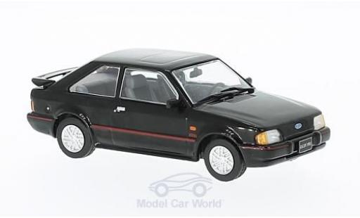 Ford Escort 1/43 Triple 9 Collection XR3i noire 1990 miniature