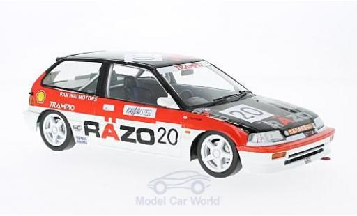 Honda Civic 1/18 Triple 9 Collection EF3 RHD No.20 Razo Trampio GP Macau 1989 ohne Vitrine diecast