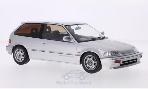Honda Civic 1/18 Triple 9 Collection (EF3) Si grise RHD 1987 3-Türer miniature