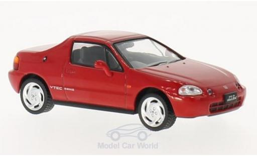 Honda CR-X 1/43 Triple 9 Collection Delsol rouge RHD 1992 miniature