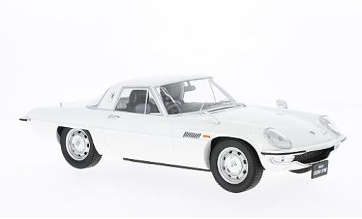 Mazda Cosmo 1/18 Triple 9 Collection Sport blanche RHD Diecast Sealed Body Series sans Vitrine miniature