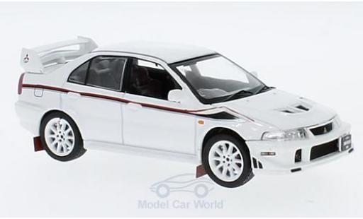 Mitsubishi Lancer 1/43 Triple 9 Collection EVO 6 TME blanche RHD 2000 miniature