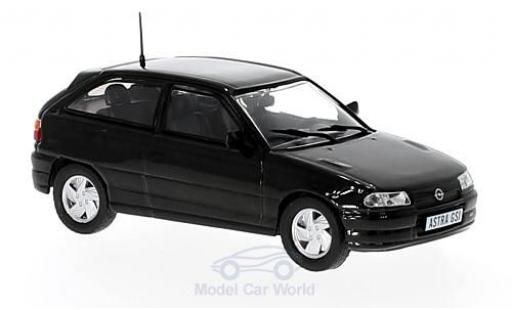 Opel Astra 1/43 Triple 9 Collection GSi metallise noire miniature