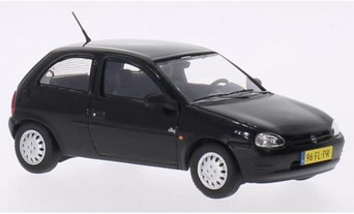 Opel Corsa 1/43 Triple 9 Collection B noire 1994 miniature