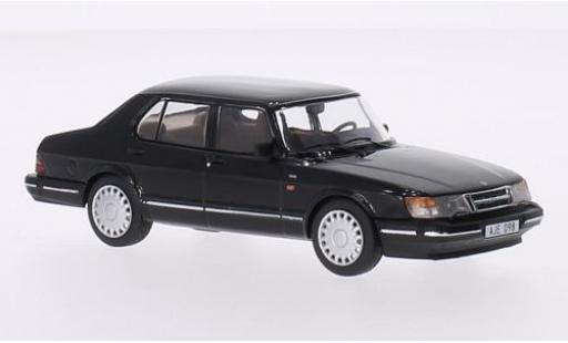 Saab 900 1/43 Triple 9 Collection i noire 1987 miniature