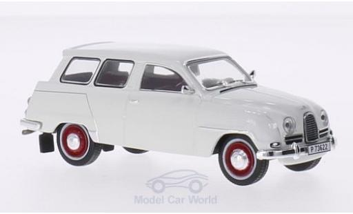 Saab 95 1/43 Triple 9 Collection blanche 1961 miniature