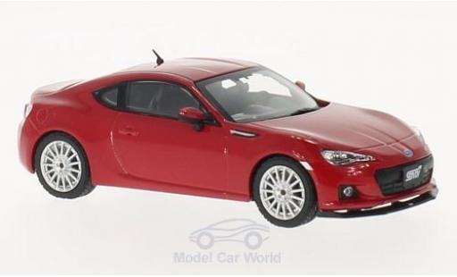 Subaru BRZ 1/43 Triple 9 Collection STI tS rojo 2013 coche miniatura