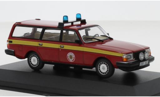 Volvo 245 1/43 Triple 9 Collection Räddningstjänsten Mora 1983 services de secours (SWE) miniature