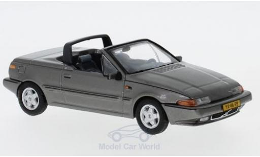 Volvo 480 1/43 Triple 9 Collection Turbo Cabriolet metallise grise 1990 miniature