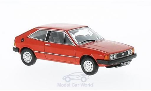 Volkswagen Scirocco 1/43 Triple 9 Collection rouge 1980 miniature