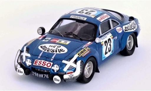 Alpine A110 1/43 Trofeu Renault No.23 Antesite Rallye WM Safari Rallye 1975 B.Neyret/J.Terramorsi miniature