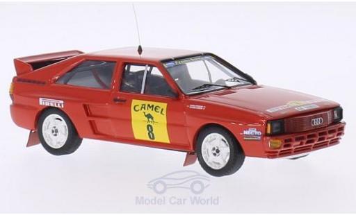 Audi Quattro 1/43 Trofeu A2 No.8 Campeonato Espana Ralys Tierra 1988 C.Aldecoa/M.Inunciaga miniature