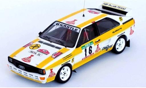 Audi Quattro 1/43 Trofeu quattro No.16 HB Rallye WM Rallye Portugal 1985 W.Grissmann/J.Pattermann modellautos