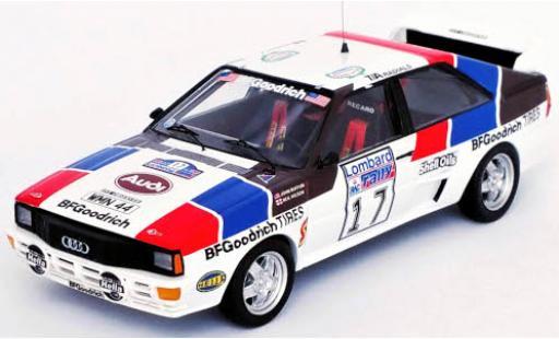 Audi Quattro 1/43 Trofeu quattro No.17 Rallye WM RAC Rallye 1984 J.Buffum/N.Wilson coche miniatura