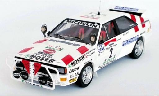 Audi Quattro 1/43 Trofeu No.2 Rally Bandama 1986 W.Wiedner/F.Zehetner modellautos