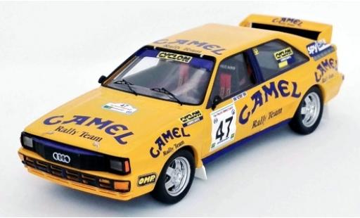 Audi Quattro 1/43 Trofeu quattro No.47 Camel Rally Team Camel Fthiotidas Rally 1990 Iaveris/El-Em diecast model cars