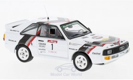 Audi Sport Quattro 1/43 Trofeu Sport quattro No.1 Rallye DM Rallye Metz 1984 W.Röhrl/C.Geistdörfer miniature