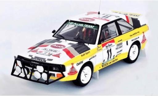 Audi Sport Quattro 1/43 Trofeu Sport quattro No.11 HB Team Rallye WM Rally Bandama 1985 F.Braun/A.Fischer diecast model cars