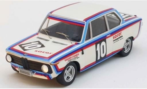 Bmw 2002 1/43 Trofeu No.10 Vila do Conde 1975 R.Esperto miniature