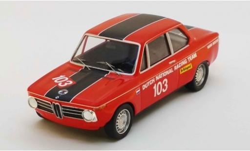 Bmw 2002 1/43 Trofeu No.103 Zandvoort 1969 H.Koster miniatura