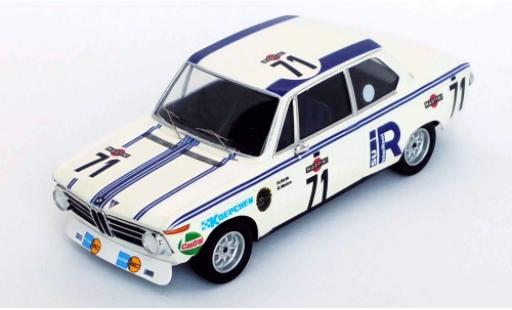 Bmw 2002 1/43 Trofeu No.71 24h Spa 1973 H.Hirth/G.Mohrs miniatura