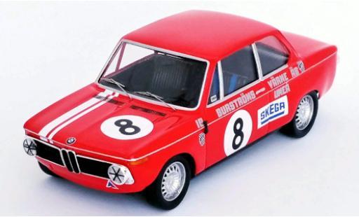Bmw 2002 1/43 Trofeu No.8 Mantorp Park 1970 I.Burström diecast model cars