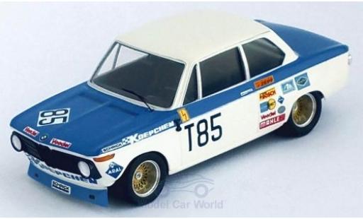 Bmw 2002 1/43 Trofeu ti No.85 1000 Km Nürburgring 1973 H.Kelleners/T.Pilette miniature