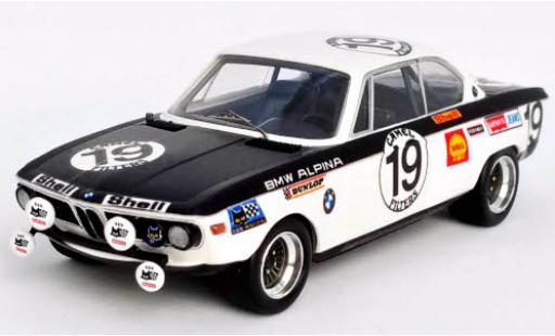 Bmw 2800 1/43 Trofeu CS (E9) No.19 Alpina 24h Spa Francorchamps 1971 R.Mathay/J.Xhenceval diecast model cars